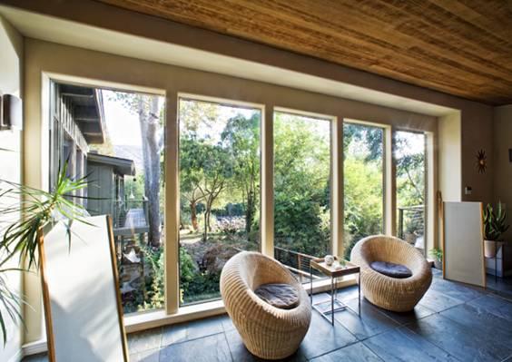 Kaweah-Falls-fereastra interior
