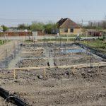 Finalizare bloc  fundatie casa Covaci