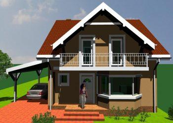 Proiect casa P+M 144mp
