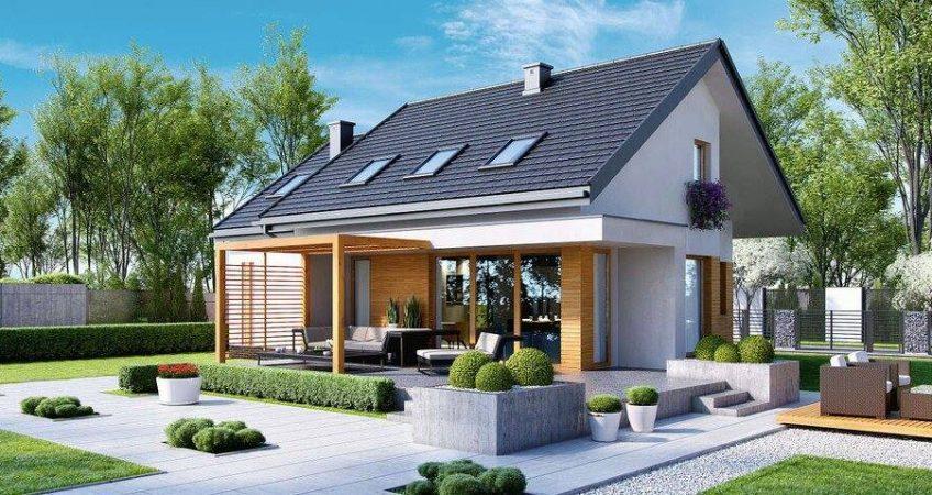 Model proiect casa la cheie 238mp - La case de l oncle paul ...