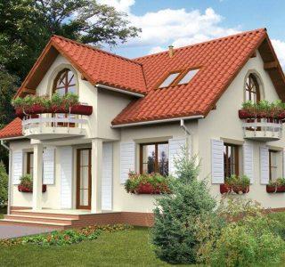 Casa rustica 160mp