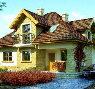 Casa cu mansarada la cheie 218mp