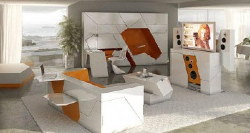 mobila futurista