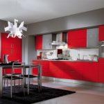 ala cucine bucatarie rosu