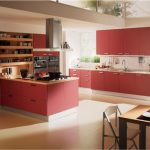 bucatarie in rosu