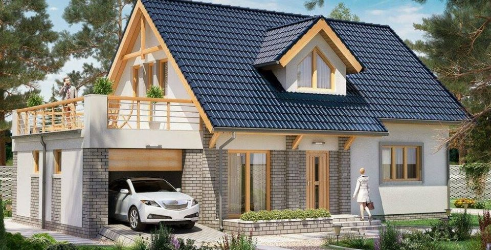 casa cu mansarda 116m2
