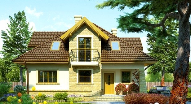 casa cu mansarda 2