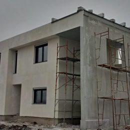 casa ghiroda finisaje exterioare