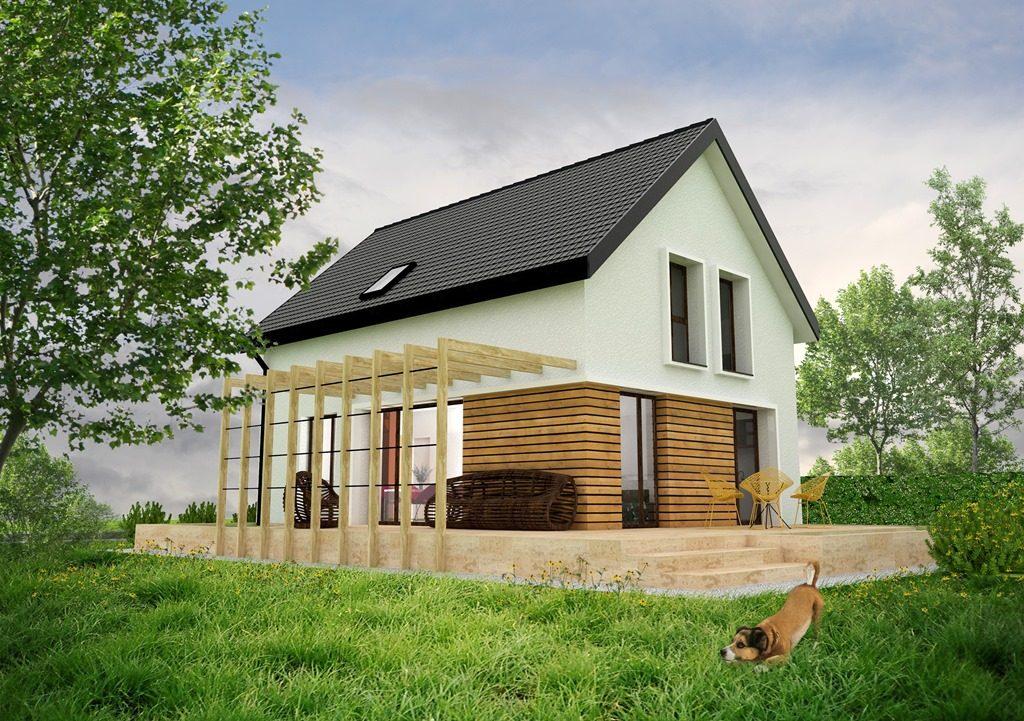 Casa Parter + Mansarda 160 mp proiect tehnic complet