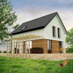 Proiect casa P+M 160mp - proiect complet la pret redus