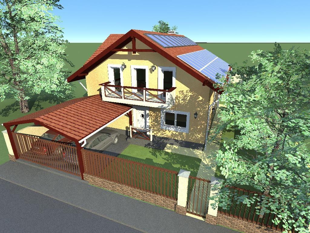 Proiect casa P+M 220mp