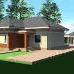 Proiect casa parter 135mp