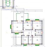 plan casa parter 114