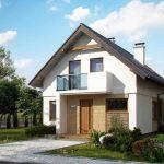 Casa P+M 131 m2 - Proiect C1
