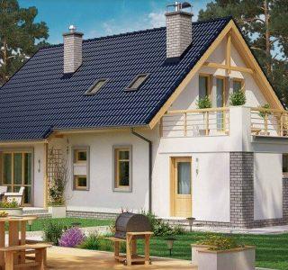 casa cu mansarda 174m2