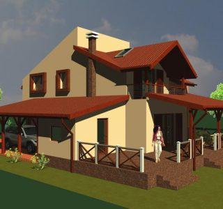Proiect casa P+M 186mp