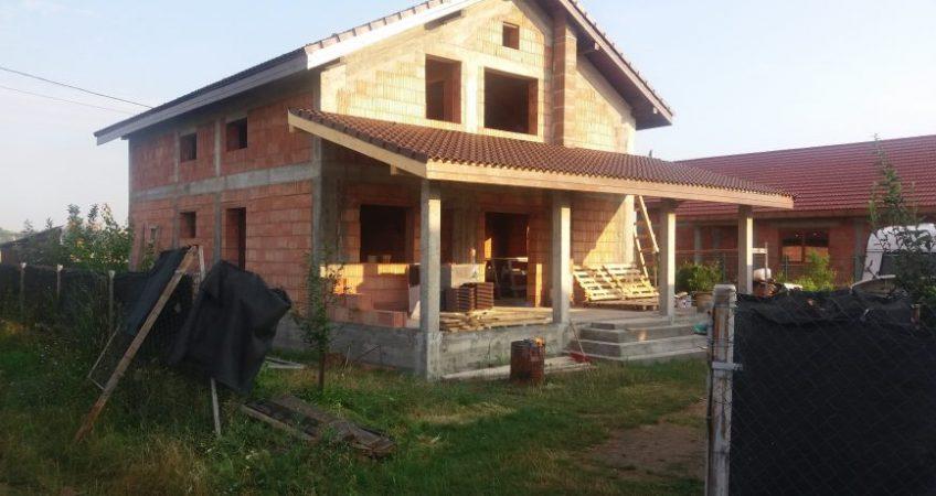 Constructii case la rosu Timisoara