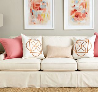 Arnajament Perne decorative simplu