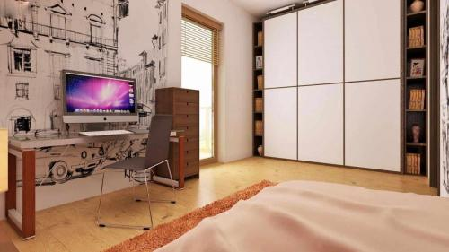 Casa mica cu mansarda 148mp interior 5