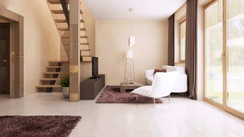 Casa mica cu mansarda 148mp interior