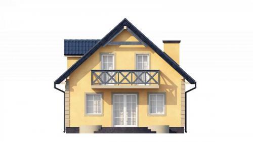 Casa mica cu mansarda 148mp v3