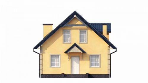 Casa mica cu mansarda 148mp v4