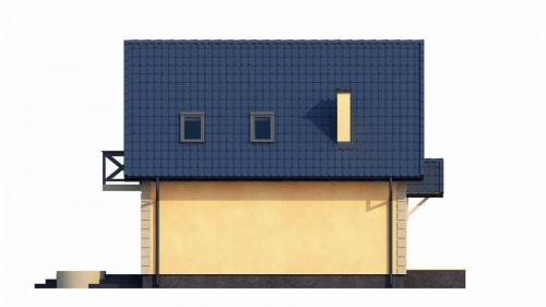 Casa mica cu mansarda 148mp v5