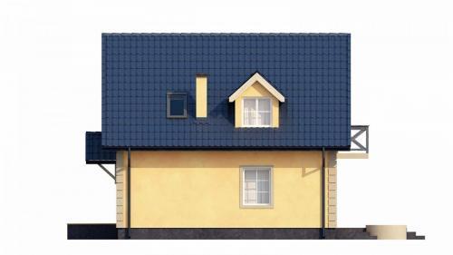 Casa mica cu mansarda 148mp v6