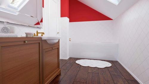 proiect parter si mansarda 3dormitoare 131mp interior 5