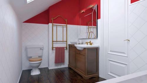 proiect parter si mansarda 3dormitoare 131mp interior 6